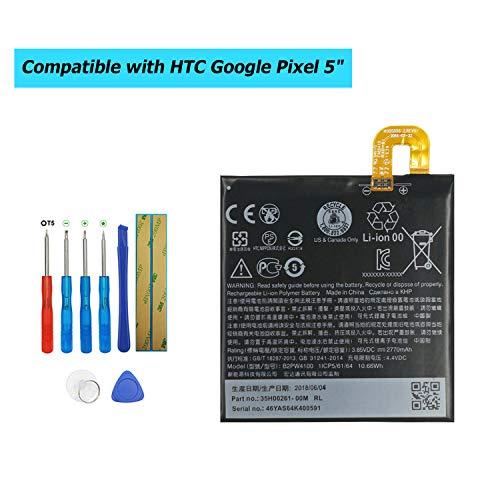 Upplus B2PW4100 - Batería de Repuesto para HTC Google Pixel 5