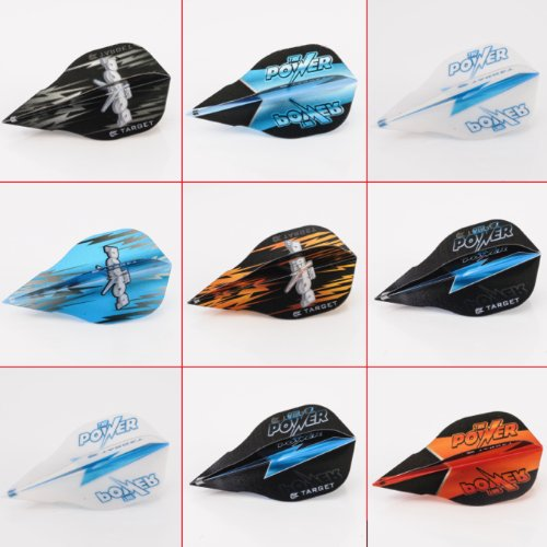 5 x gemischt Sets of Target Phil Taylor Vision Edge Dart Flights Power Form