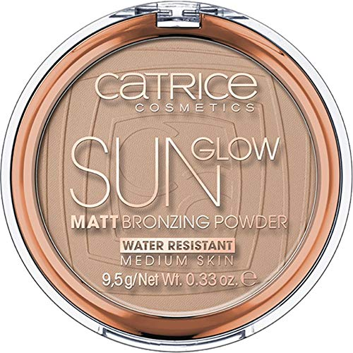 Catrice - Bronzer - Sun Glow Matt Bronzing Powder - Medium Bronze 030