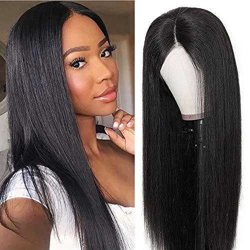 Parrucche lace front parrucca donna capelli veri capelli lisci lace front wigs human hair parrucche donna capelli veri capelli umani brasiliani vergini 16 inch/40 cm