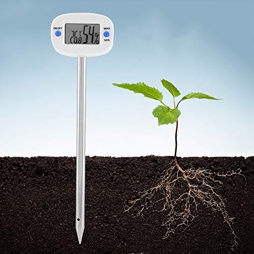 Duokon TA290 Medidor de Humedad del Suelo Portátil Digital Probador para Plantas Flores Acidez Medición de Humedad Herramienta de Sonda de Jardín