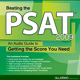 Beating the PSAT, 2009 Edition audiobook cover art
