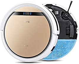 ILIFE V5s Pro, 2-in-1 Mopping,Robot Vacuum, Slim, Automatic Self-Charging Robotic Vacuum, Daily Schedule, Ideal for Pet Ha...