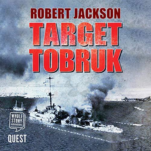 Target Tobruk audiobook cover art