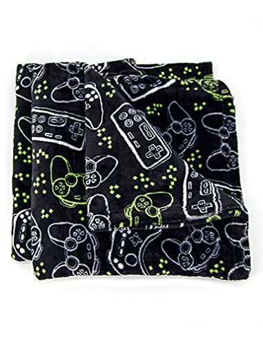 Tstars Gamer Boy Gifts Gamer Blanket Soft Gaming Throw Blanket for Boys