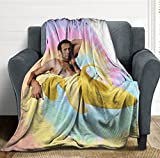 Qhexs Ultra-Soft 3D Printing Fleece Throw Blanket for Couch Sofa Or Bed Throw Size Super Cozy and Comfy for All Seasons