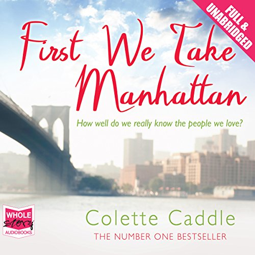 First We Take Manhattan audiobook cover art