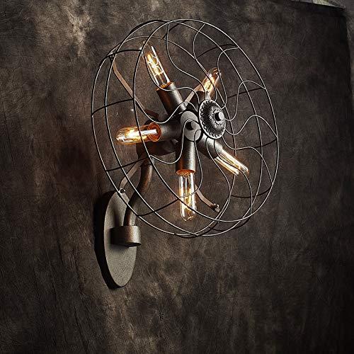 Wandlamp plafondventilatoren wandlampen industriële kleding creatieve koffiewandlampen verlichting decoratiematerialen