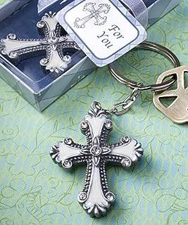 Fashioncraft Cross Design Keychain, 1