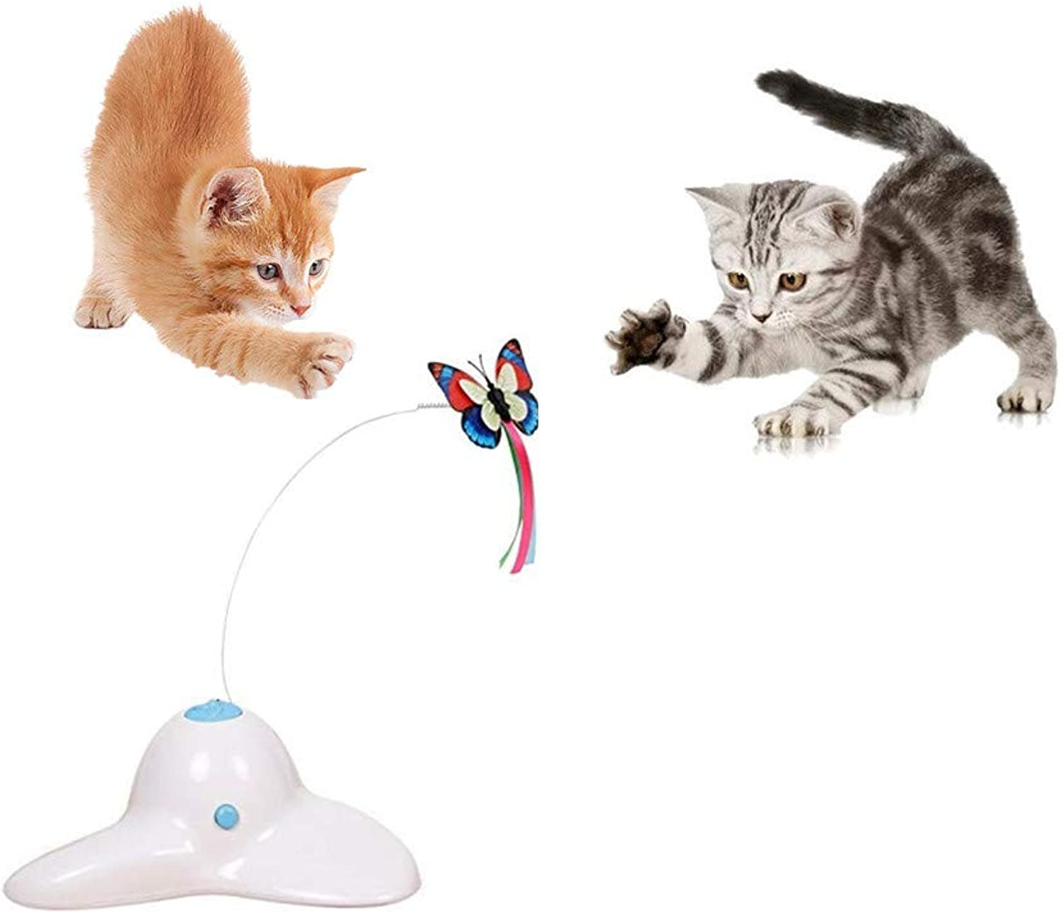Electric redating Butterfly Cat 360° redation Attracts Cats