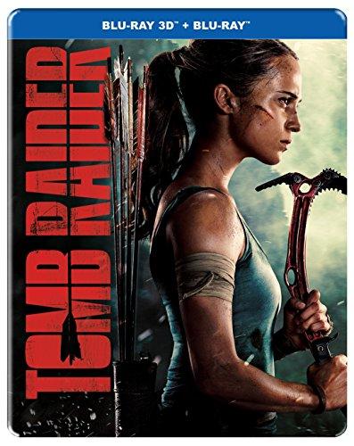 Tomb Raider (STEELBOOK) (3D + Blu-ray) (2018)