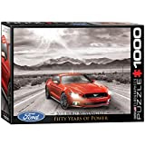 Ford Mustang 2015 - 1000 piezas rompecabezas, 680mm x 490mm