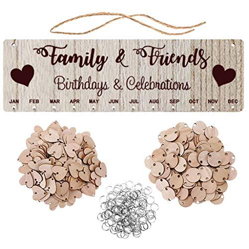 Printasaurus Wooden Sign Wooden Crafts Creative DIY Calendar Listing Birthday Party Party Decoration Home & Garden Home DIY