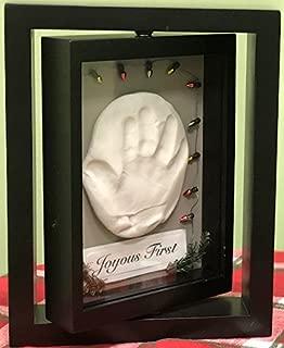 Makins Clay Memory Frame Child Single Turn Baby Hand and Foot Imprint Impression Keepsake