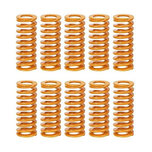 Ressorts de lit de la chaleur de l'imprimante 3D ressorts de compression bas relient nivellement charge M3 vis légère pour Creality CR-10 10S S4 Ender 3 Ender 3 Pro