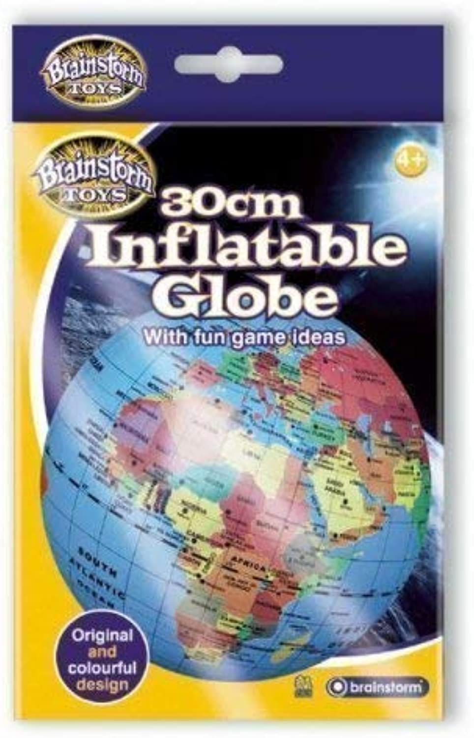 New Kids Play Toys Word Discovery Fact Finders 30cm Inflatable Globe Pack of 12