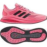 adidas womens Supernova Running Shoe, Signal Pink/Black/Copper, 6.5 US