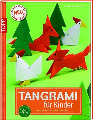 Tangrami für Kinder: Papier falten und stecken