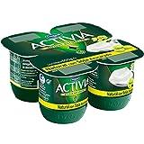Activia - Yogur Danone Soja Natural Pack 4 x 125 g