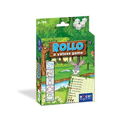 HUCH! 881823 Rollo Yatzee Würfelspiel, Familienspiel