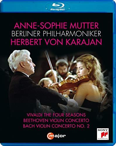Anne-Sophie Mutter, Berliner Philharmoniker, Herbert von Karajan [Anne-Sophie Mutter; Berliner Philharmoniker; Herbert von Karajan] [Blu-ray]