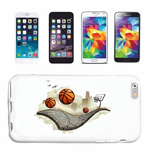 Reifen-Markt Hard Cover - Funda para teléfono móvil Compatible con Samsung Galaxy S4 Mini Equipo de Baloncesto Club Baloncesto Jugador de básquet Jugador
