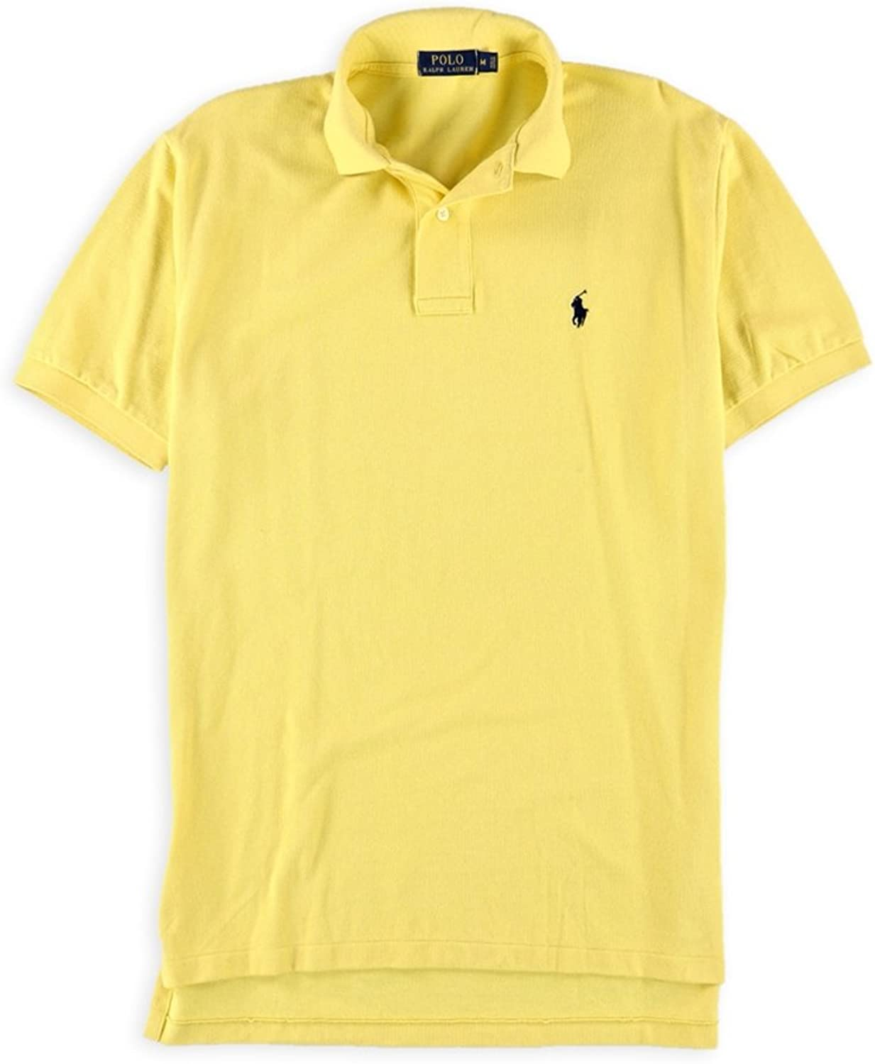 dcce9534 Ralph Lauren Mens Textured Short Sleeve Rugby Polo Polo Polo Shirt 88b0b7