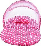 Star 'N' Princess ® Premium Polka Pink,Soft Comfort Pillow Cotton Luxury Baby Travel