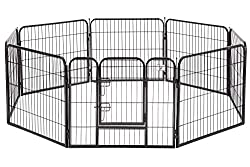 BestPet-Heavy-Duty-Pet-Playpen-Dog-Exercise-Pen-Outdoor