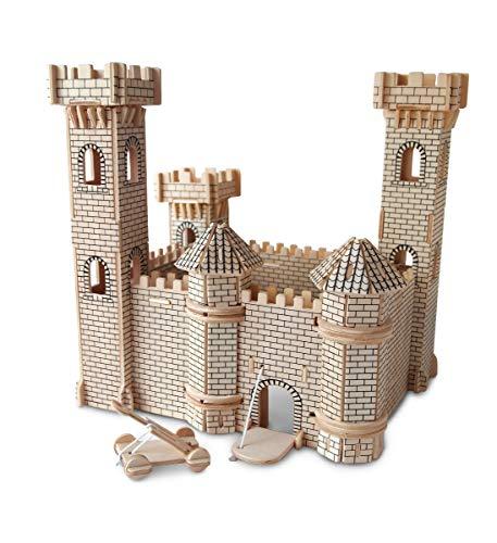 Puzzled 3D Puzzle Castle Set Wood Craft...
