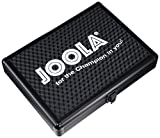 JOOLA Aluminum Table Tennis Racket Case with Ball Storage (Black)