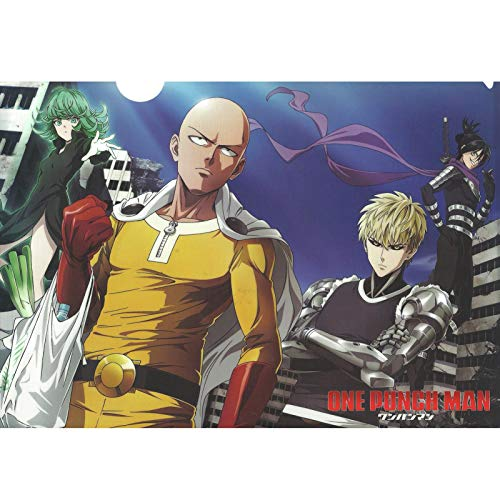 Puzzle Jigsaw One Punch Man 300/500/1000 Piezas para Adultos Manga Figura Puzzles Juguete Familia Anime Amigos Regalo Fans Puzzle Shop (Color : A, Size : 1000PC)