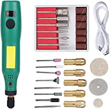 Mini Amoladora Eléctrica Multiherramienta Mini Taladro Herramienta Rotativa Multifunción para tallar, fresar, amolar, limpiar, pulir, cortar, lijar y grabar