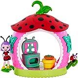 Enchantimals - Minicocina de Ladelia Ladybug, muñeca con accesorios (Mattel FXM98)