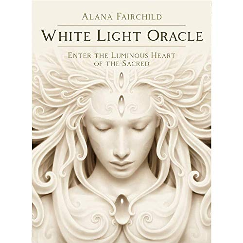 White Light Oracle Cards - 44 Sheets Solitaire Game Divination Destiny Deck Game Table Party Puzzle Board Game