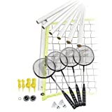 Franklin Sports Badminton Set - Portable Badminton Set - Adult and Kids...