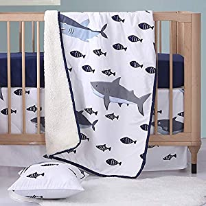 51TAY28lUHL._SS300_ Nautical Crib Bedding & Beach Crib Bedding Sets