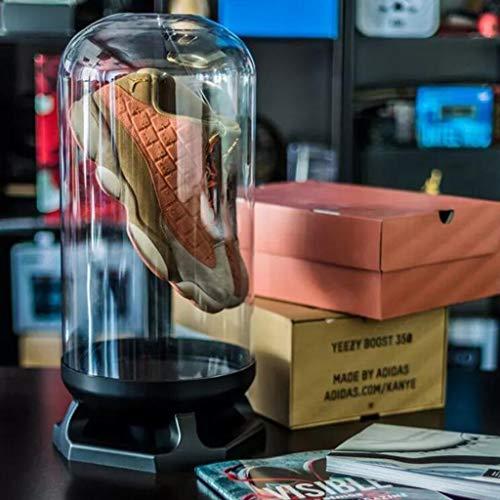 ZKLNO Kapsel Transparente Sneaker Aufbewahrungsbox, Basketball Fußball Schuh Vitrine Für Sport Souvenir Aufbewahrung Produktkollektionen Benutzerdefinierte Sneaker Aufbewahrungsbox,1pcs