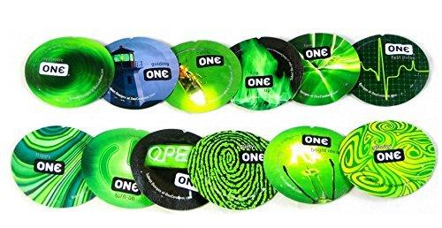 ONE Glowing Pleasures: 36-Pack of Condoms
