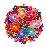 Water Balloons Quick Refill Kits,2000pcs Ballons d'eau magiques Water Bombs Bulk Fight Games Sports Summer Splash Fun for Kids & Adults