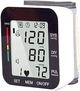 CXD Monitores Electrónico Recargable De La Presión Arterial, La Tensión Y La Pantalla Digital LCD De Detección De Corriente De Presión Inteligente,Negro