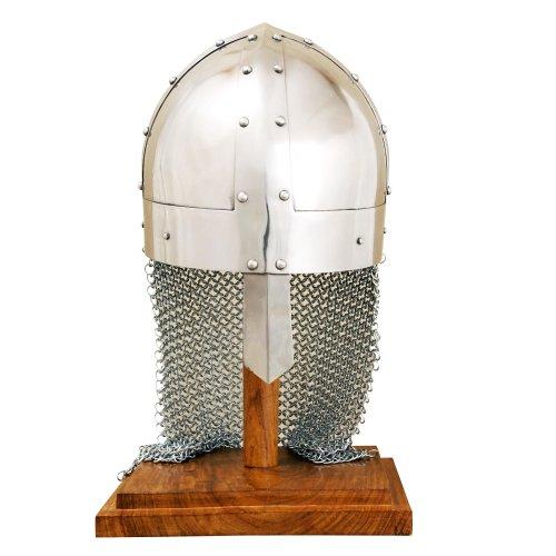 Spangen-Helm mit Kettenschutz, Wikinger Norwegen