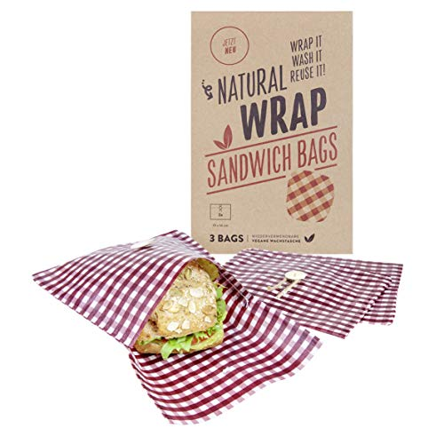 Media Chain Natural Wrap Sandwic...