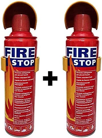 Safe Pro Fire Stop Car and Home Fire Extinguisher (Pack of 2)