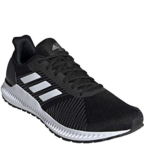 adidas Herren Solar Blaze Laufschuhe Core Black/Cloud White/Grey Six 11
