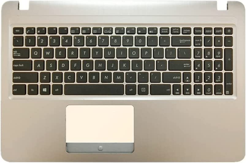 Laptop Upper Case Cover Nippon regular agency Ranking TOP19 C Shell White U ASUS Keyboard C520 for