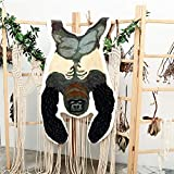Capslpad Faux Rabbit Fur Area Rug Soft Gorilla Hide Rug Cute Animal Print Rug 3ft x 5ft for Kids Nursery Bedroom Living Room Sofa Chair Bathroom Decor