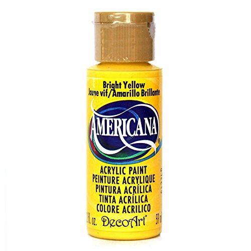 Deco Art Americana Peinture Acrylique Multi-usages, Jaune Vif