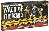 Cool Mini or Not Zombicide Box of Zombies: Walk of The Dead 2 Set #4 - Juego de Mesa, para 6 Jugadores (CoolMiniOrNotInc. GUG0018) (versión en inglés) Talla única