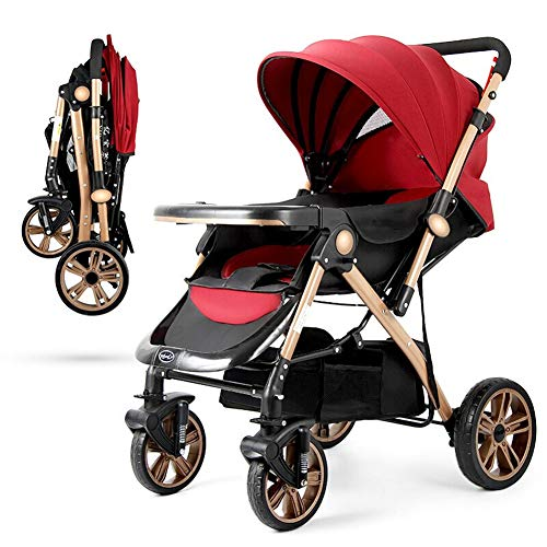 Find Bargain Hmcozy Baby Stroller Newborn Carriage Infant Reversible Bassinet to Luxury Toddler Vist...